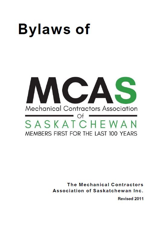 MCA Sask By-Laws